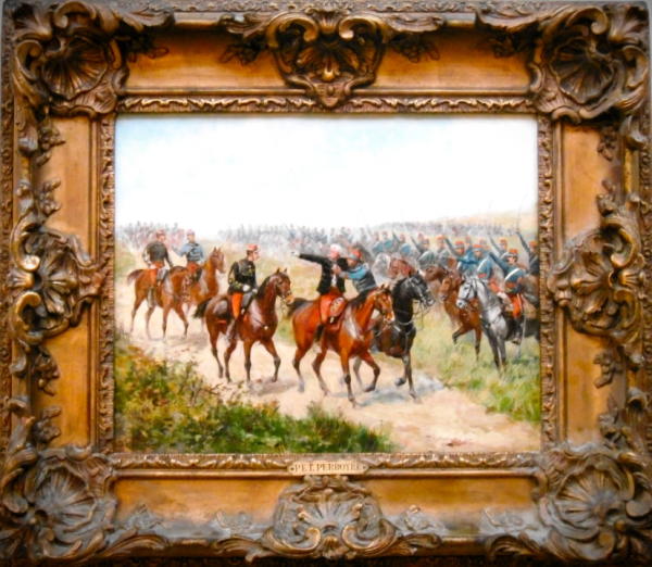 Le général Margeuritte à Sedan