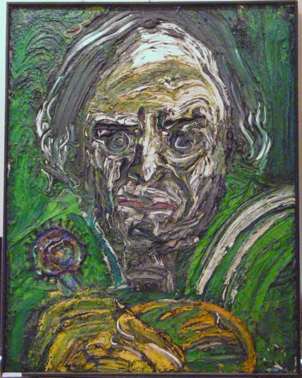 """Bengt Lindstrom """"Le portrait de Michel Chaprieus"""""""