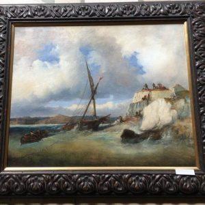 """François Barry """"Le naufrage"""""""