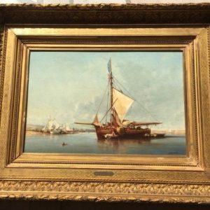 """Jules Noel """"Marine en Normandie"""""""
